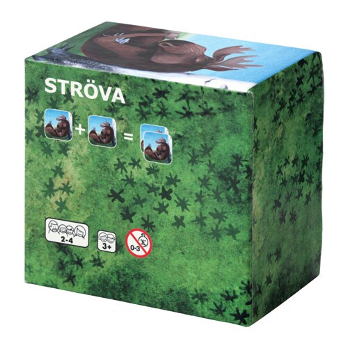 IKEA STRÖVA card game, 17 pairs
