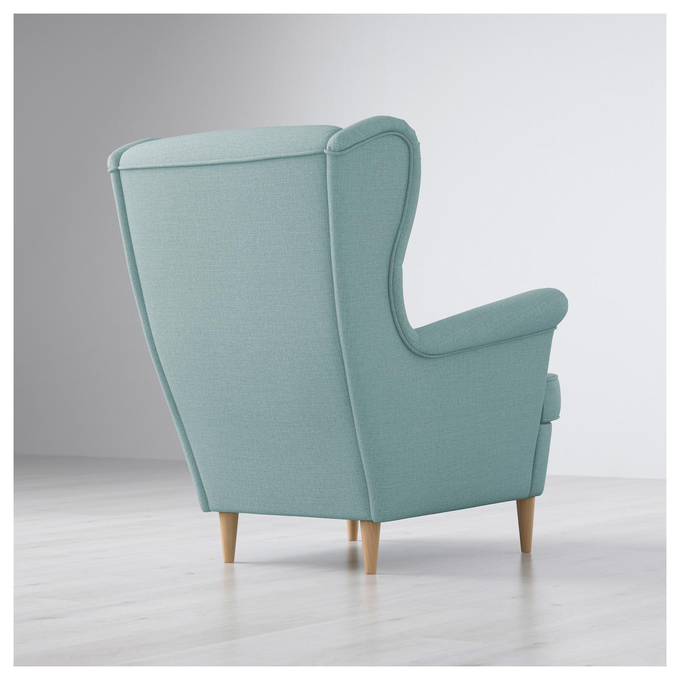 Bon IKEA STRANDMON Wing Chair 10 Year Guarantee. Read About The Terms In The  Guarantee Brochure