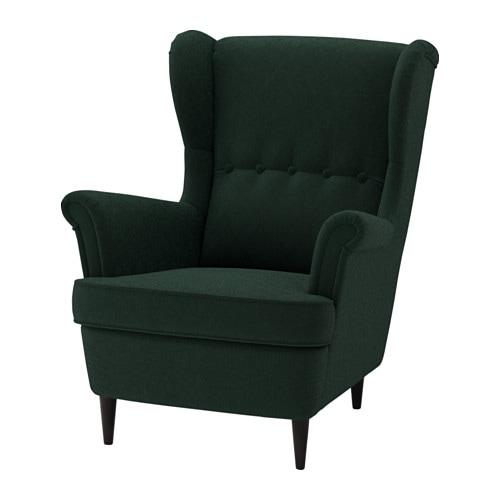 IKEA STRANDMON Wing Chair 10 Year Guarantee. Read About The Terms In The  Guarantee Brochure