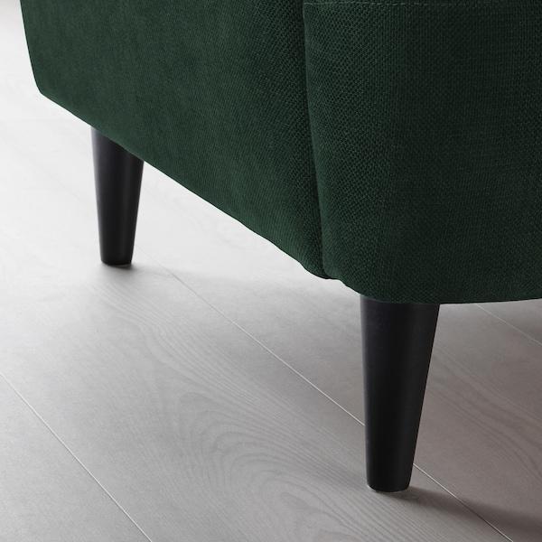 STRANDMON Wing chair, Tallmyra dark green