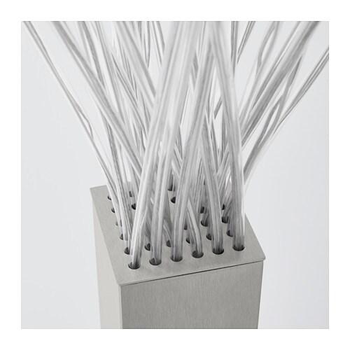 STRANNE LED Floor Lamp Steel IKEA