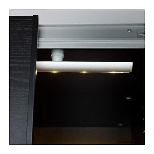 striberg led lighting strip aluminium colour 92 cm ikea. Black Bedroom Furniture Sets. Home Design Ideas