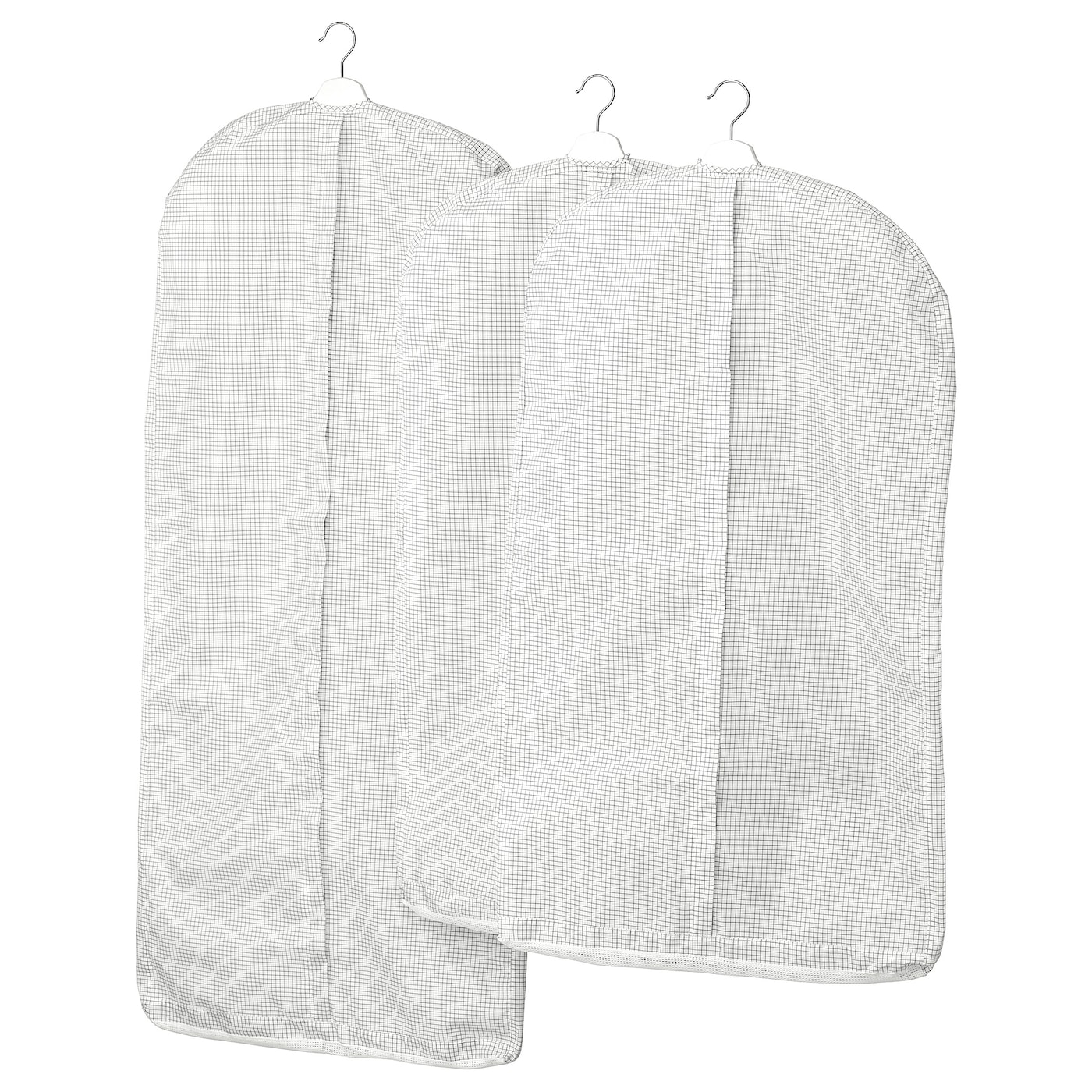 IKEA STUK clothes cover, set of 3 Protects your clothes from dust.
