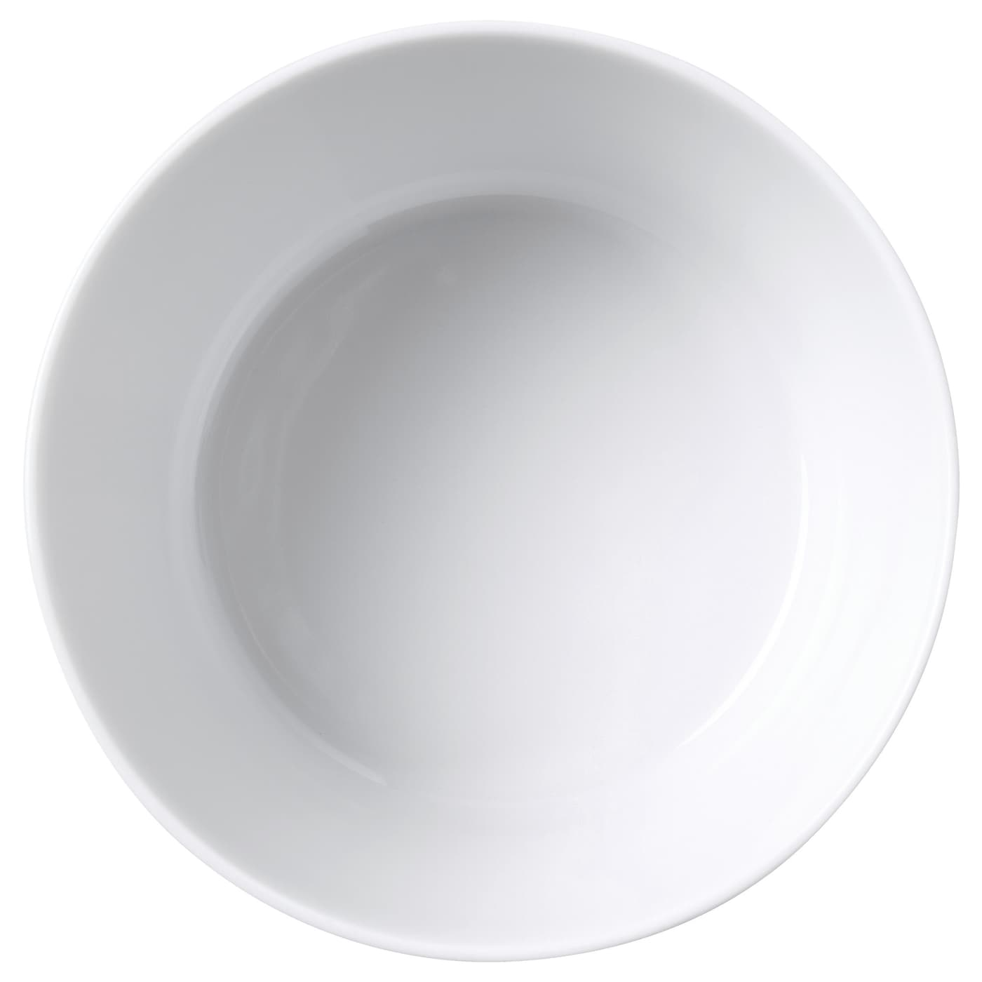 IKEA STUNSIG bowl Made of feldspar porcelain, which makes the bowl impact resistant and durable.
