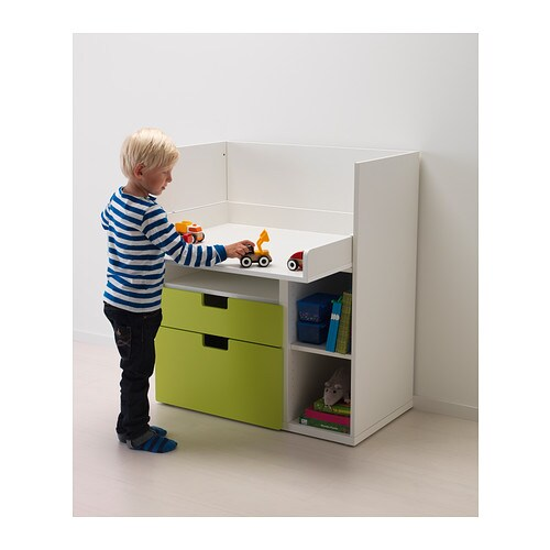 stuva changing table desk white ikea. Black Bedroom Furniture Sets. Home Design Ideas