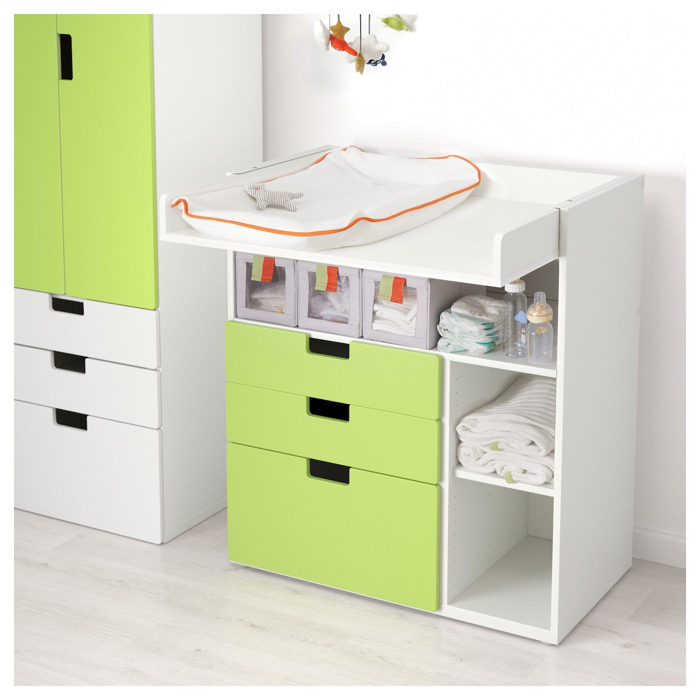 IKEA STUVA changing table with 3 drawers