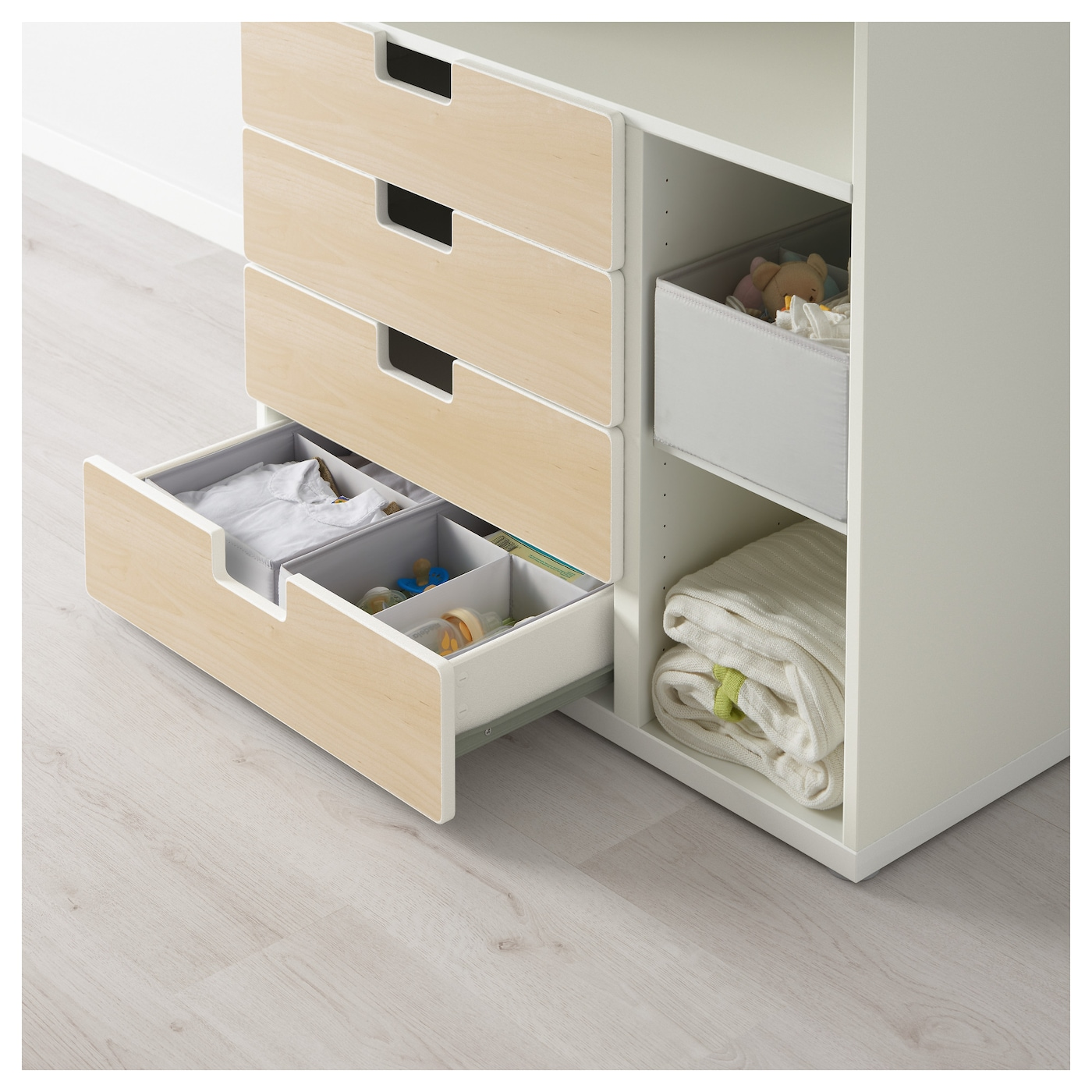 IKEA STUVA changing table with 4 drawers