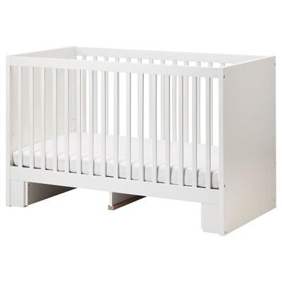 STUVA Cot, white, 70x140 cm