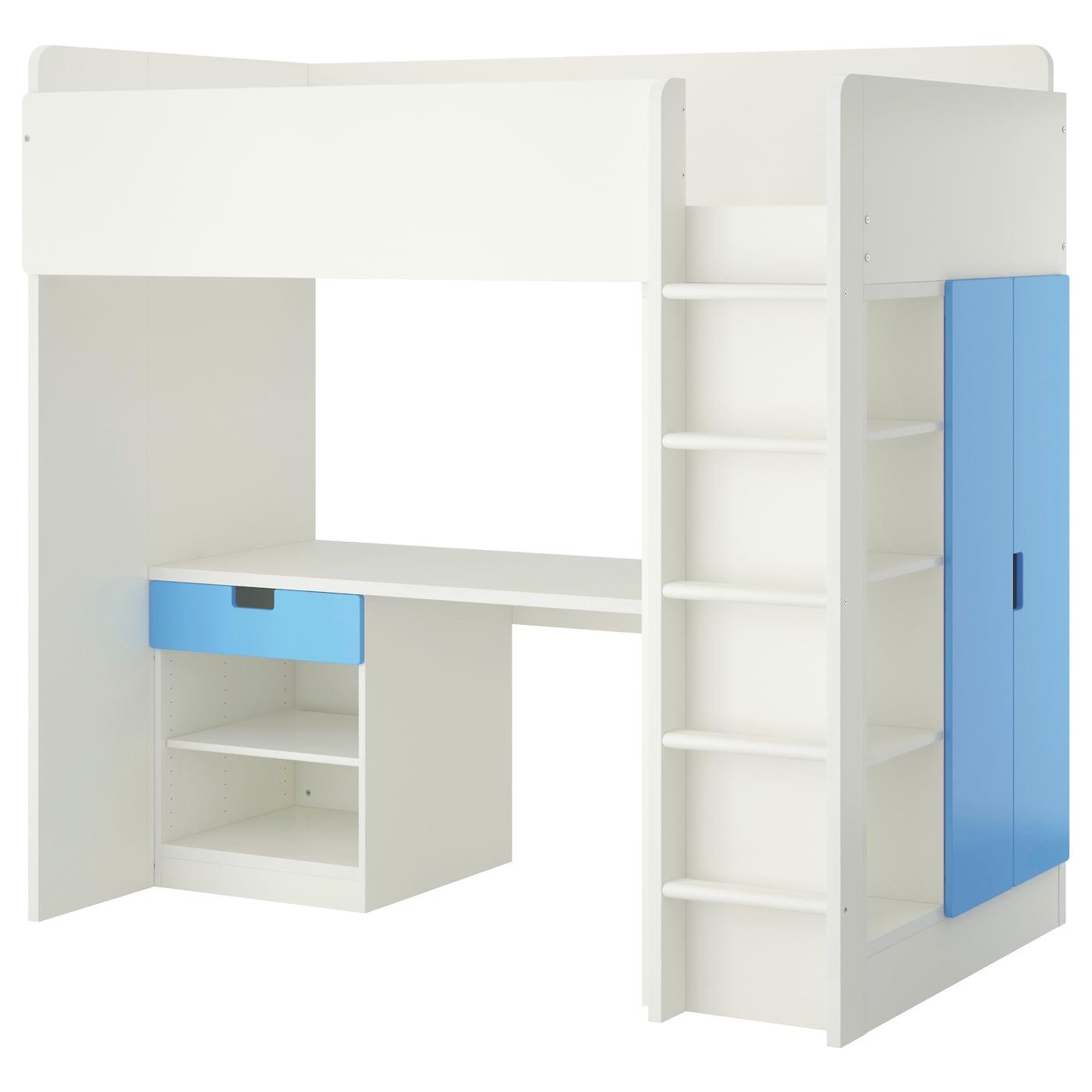 Ikea loft bed with desk - Ikea Stuva Loft Bed Combo W 1 Drawer 2 Doors