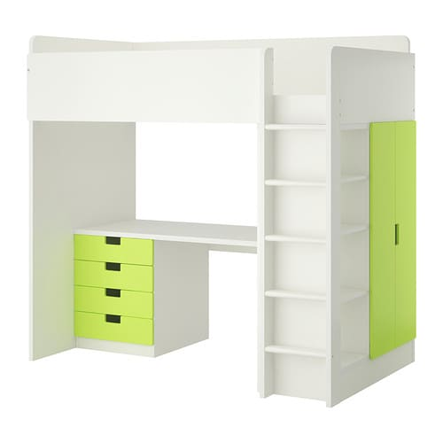 IKEA STUVA loft bed combo w 4 drawers/2 doors
