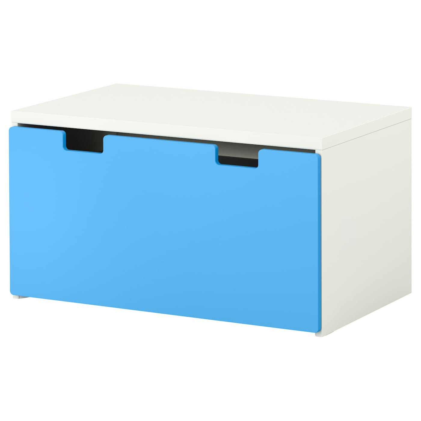 Stuva storage bench white blue 90x50x50 cm ikea for Cassapanca ikea