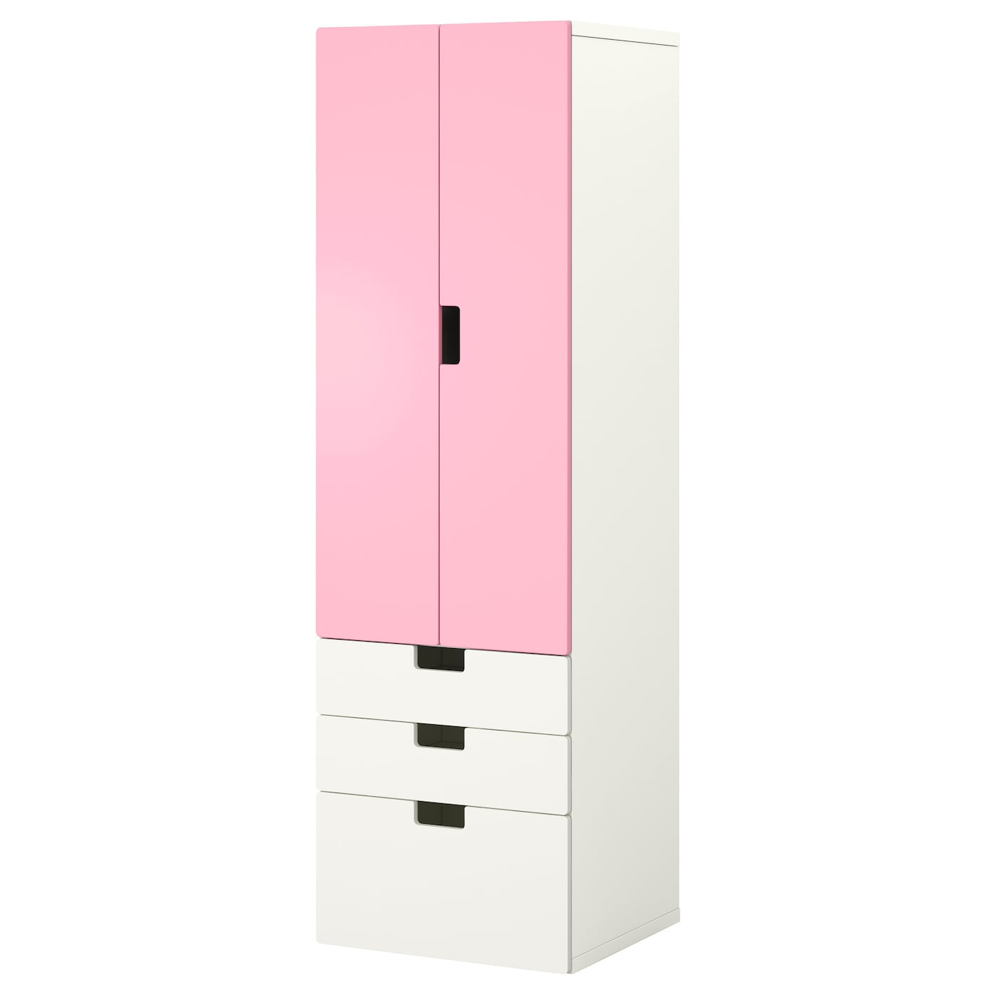 stuva storage combination w doors drawers white pink. Black Bedroom Furniture Sets. Home Design Ideas