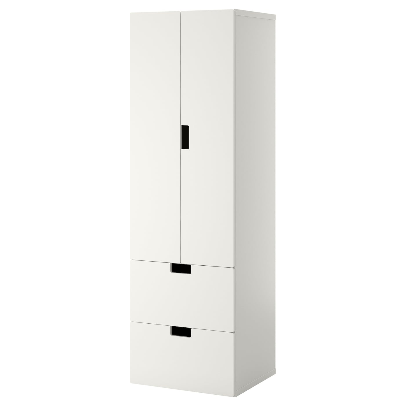 stuva storage combination w doors drawers white white 60x50x192 cm ikea. Black Bedroom Furniture Sets. Home Design Ideas