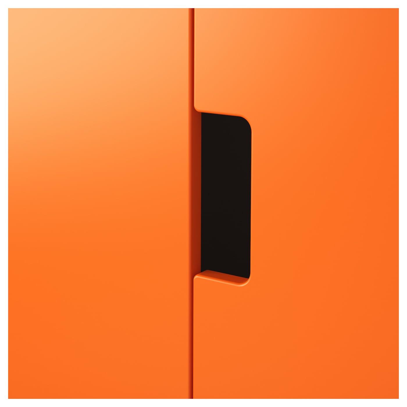 Stuva Storage Combination White Orange 210x50x192 Cm Ikea