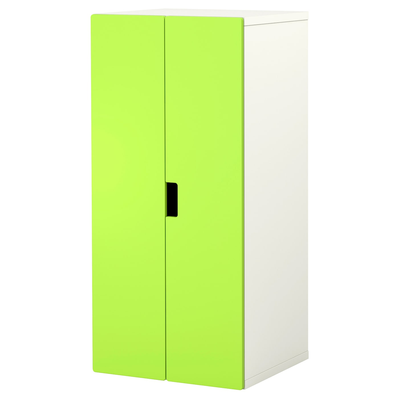 Stuva Storage Combination With Doors White Green 60x50x128