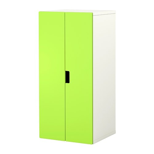 STUVA Storage combination with doors IKEA Low storage to match your child's height; makes it easier for them to reach and organize their things.