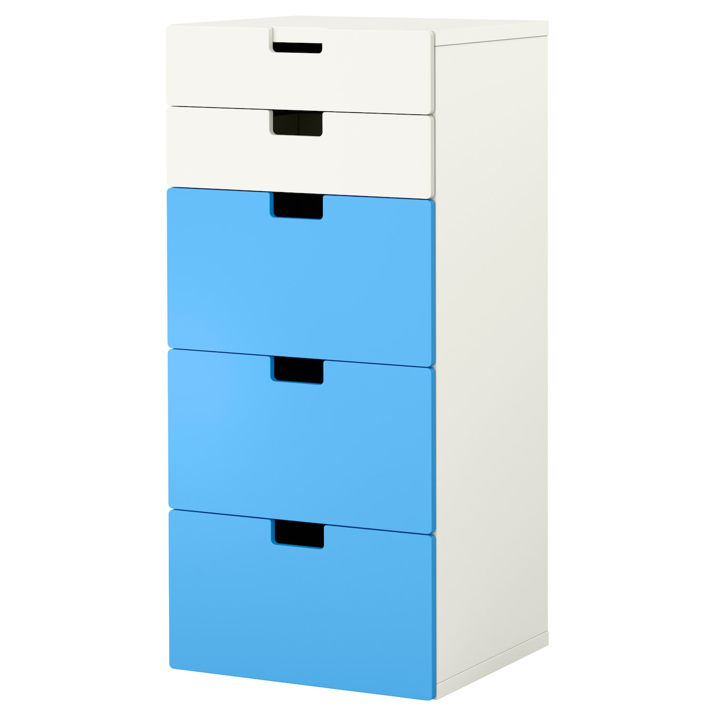 stuva storage combination with drawers white blue 60x50x128 cm ikea. Black Bedroom Furniture Sets. Home Design Ideas