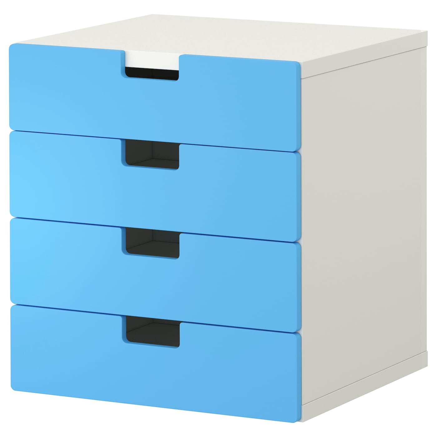 Stuva storage combination with drawers white blue 60x50x64 for Meuble rangement commode