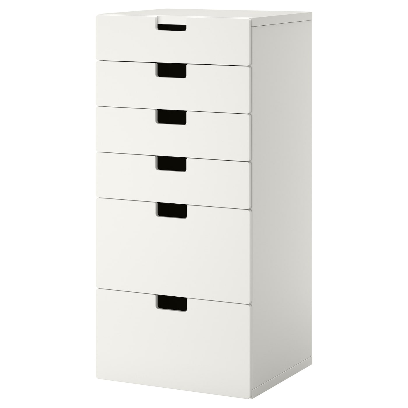 Stuva storage combination with drawers white white for Meuble blanc ikea