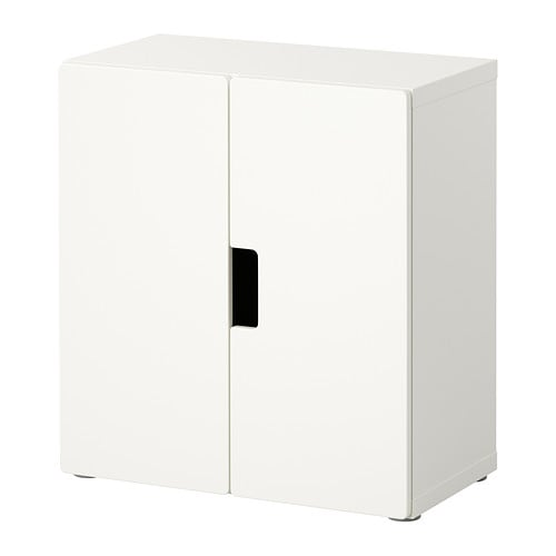 IKEA STUVA wall cabinet with doors Doors with silent soft-closing damper.