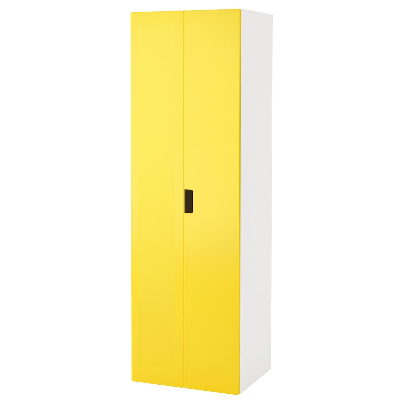 STUVA Wardrobe White yellow 60x50x192 cm IKEA