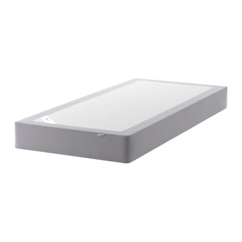 SULTAN AKSDAL Mattress base IKEA Solid wood slats offer firm posture support.