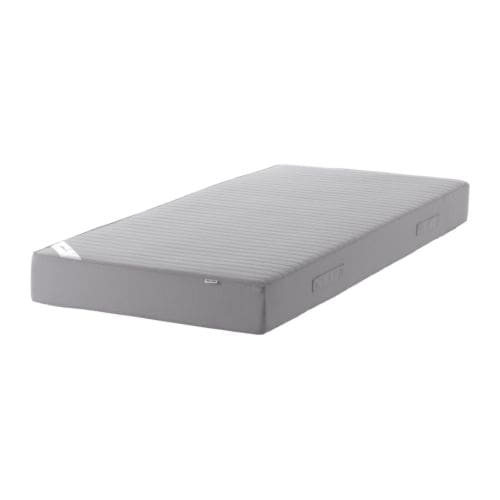 SULTAN HUGLO Sprung mattress IKEA Springs and extra wadding provide support for your body.