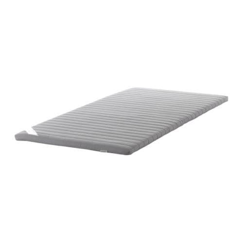 SULTAN TÅRSTA Mattress topper IKEA Foam filling provides a soft surface.  Roll-packed - easy to take home.
