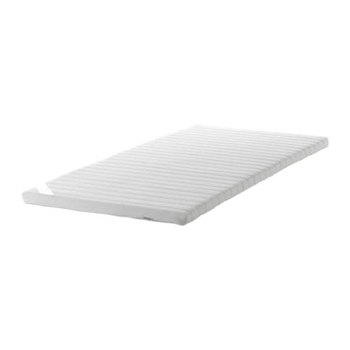 SULTAN TJÖME Mattress topper IKEA High resilience foam with pressure-relieving capacity provides good comfort.
