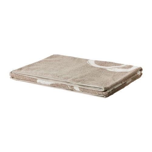 SUMMELN Bath sheet IKEA A terry towel in medium thickness that is soft and highly absorbent (weight 450 g/m²).