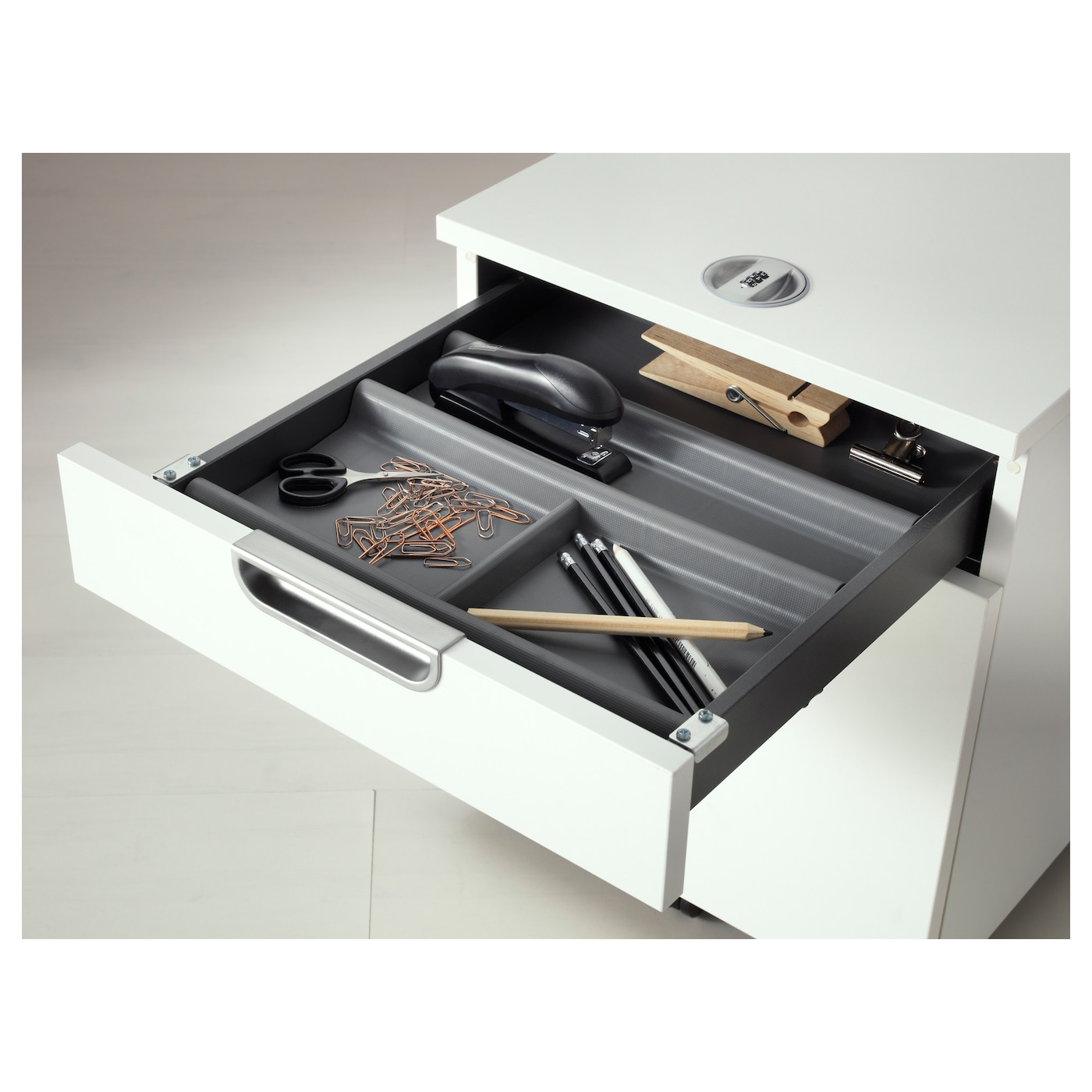 Design Ikea Drawer Organizer summera drawer insert with 6 compartments anthracite 44x37 cm ikea compartments