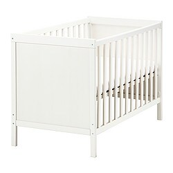 Baby Cots Uk Cots baby cot beds ikea ikea sundvik cot the cot base can be placed at two different heights sisterspd