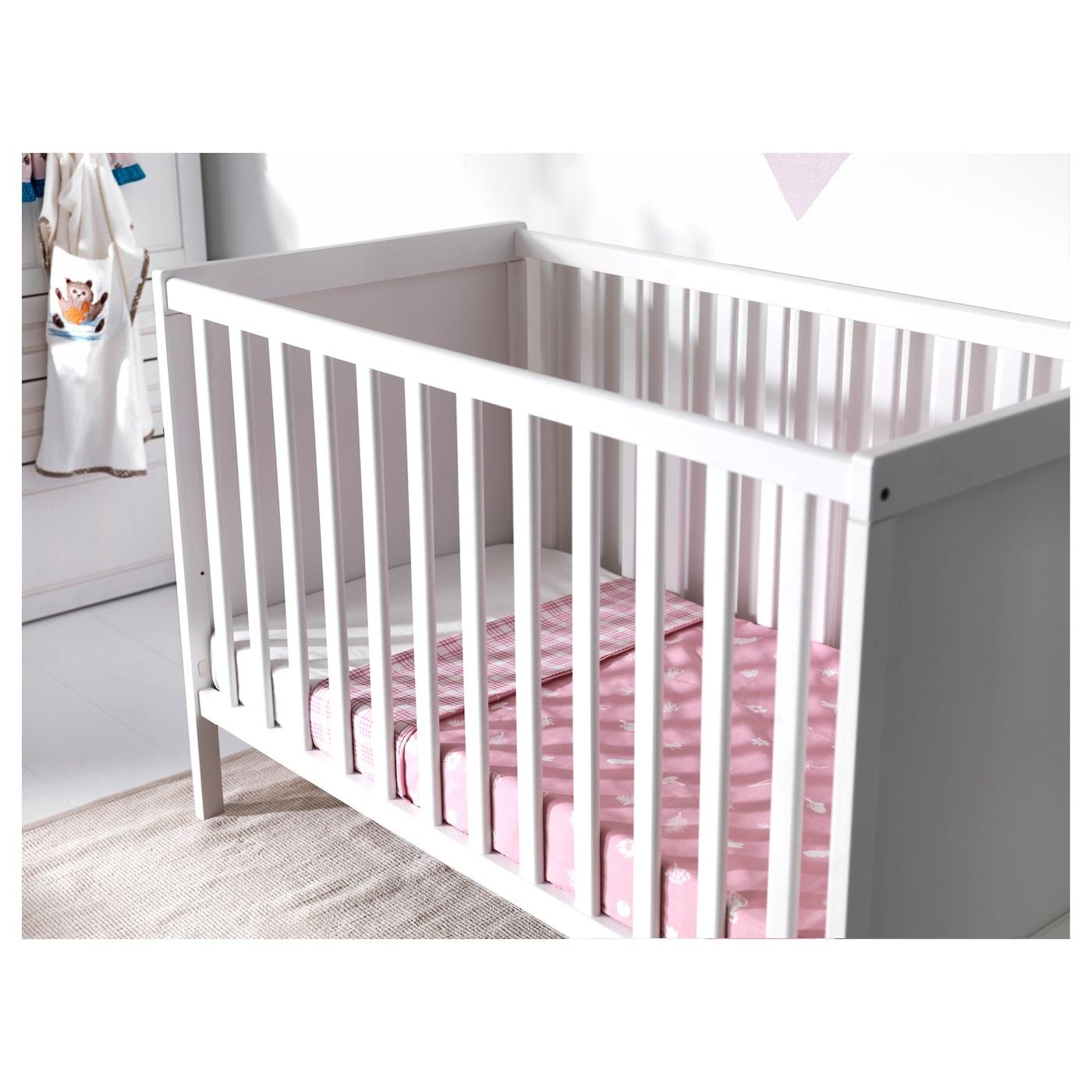 sundvik cot white 70x140 cm ikea. Black Bedroom Furniture Sets. Home Design Ideas