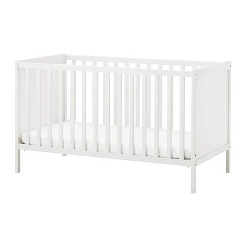 sundvik cot white 70 x 140 cm ikea. Black Bedroom Furniture Sets. Home Design Ideas