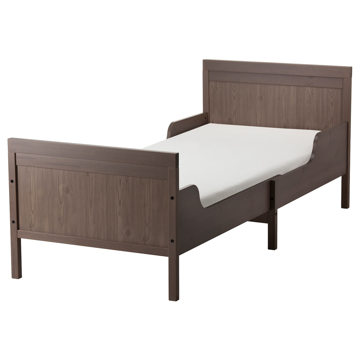 IKEA SUNDVIK Ext Bed Frame With Slatted Base