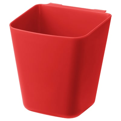 SUNNERSTA Container, red, 12x11 cm