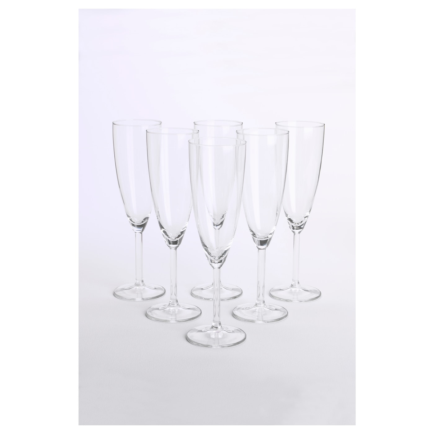 IKEA SVALKA champagne glass Dishwasher-safe.
