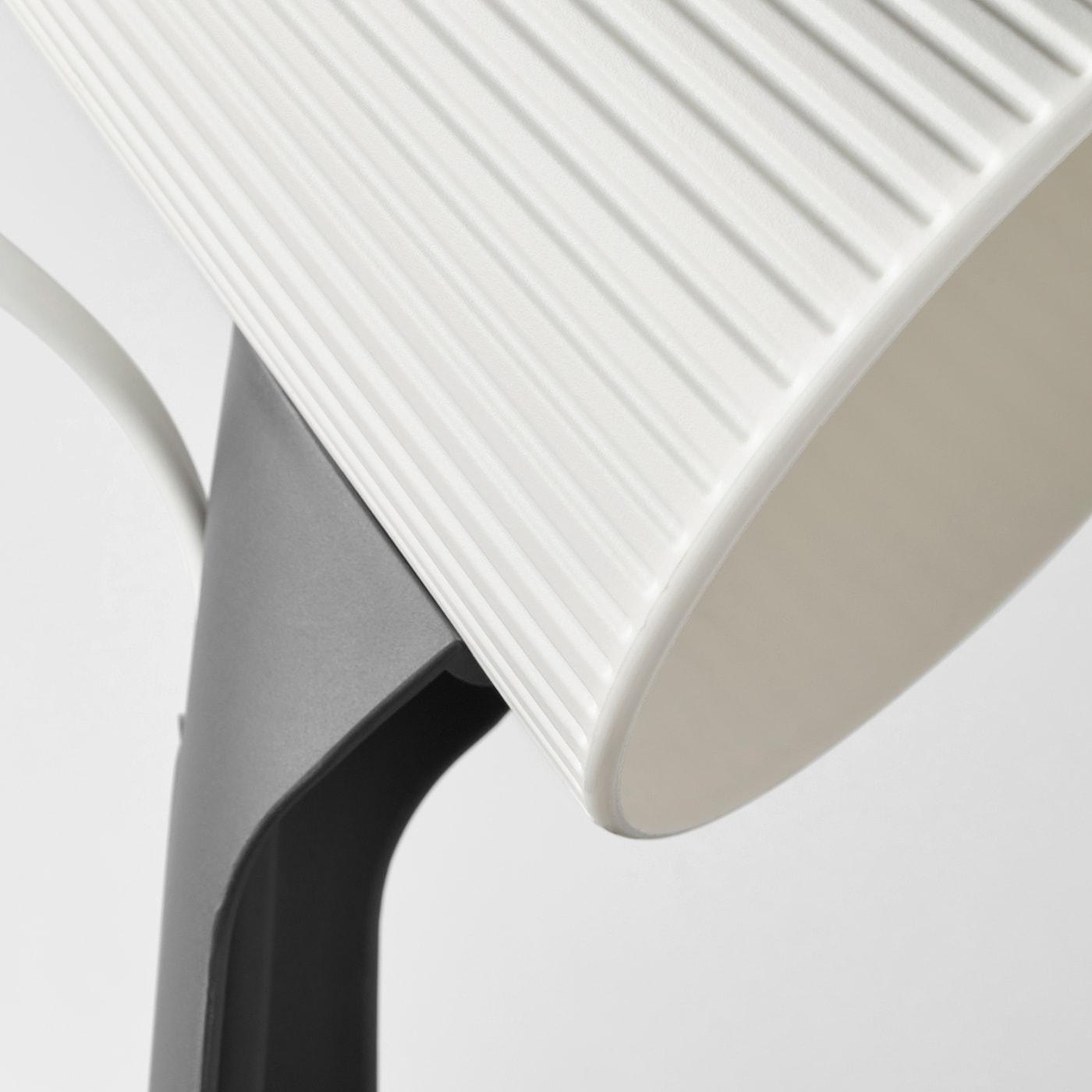 SVALLET dark grey, white, Work lamp IKEA