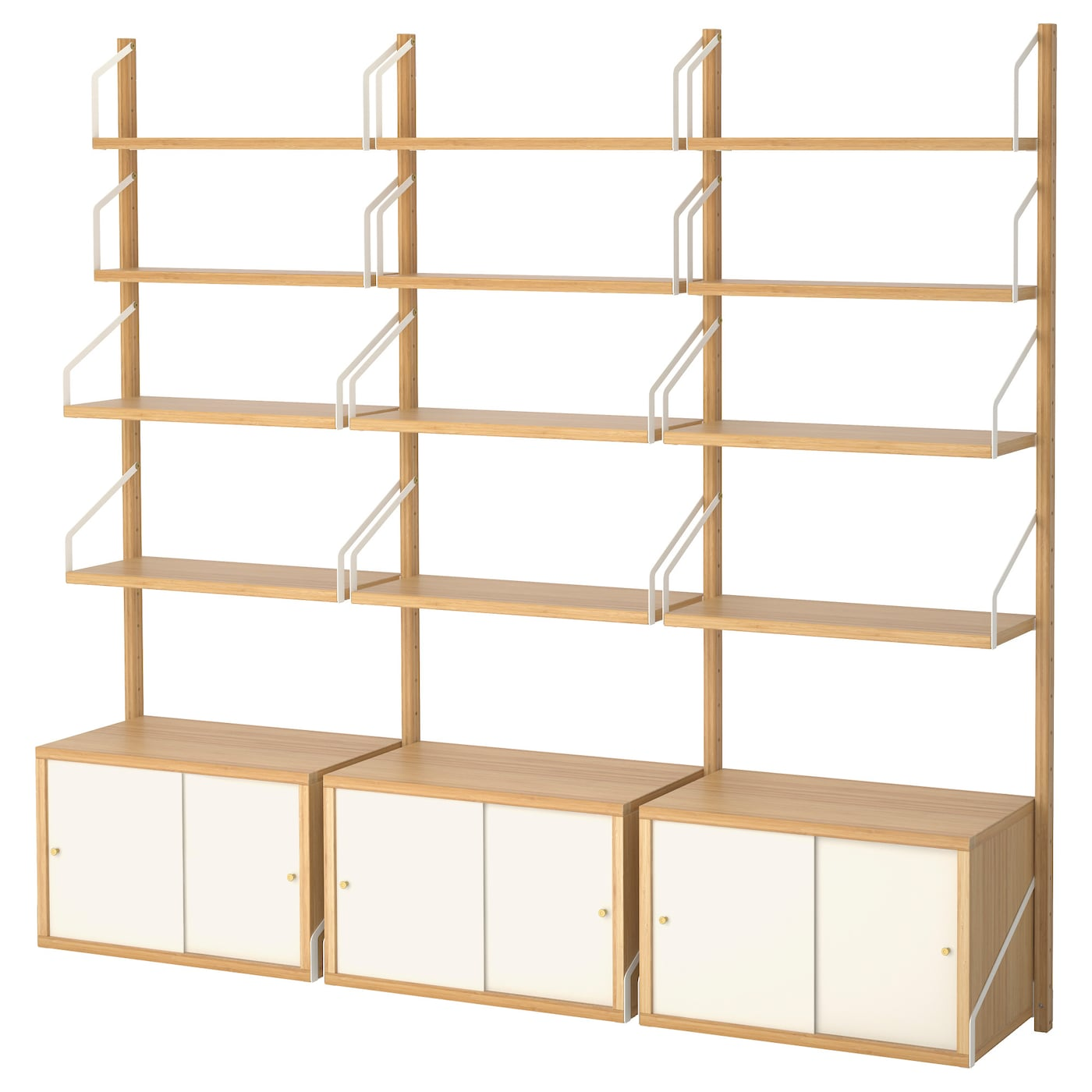 IKEA SVALNÄS wall-mounted storage combination