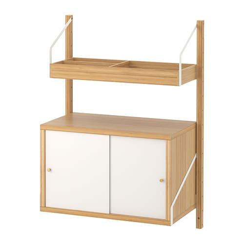 Ikea SvalnÄs Wall Mounted Storage Combination
