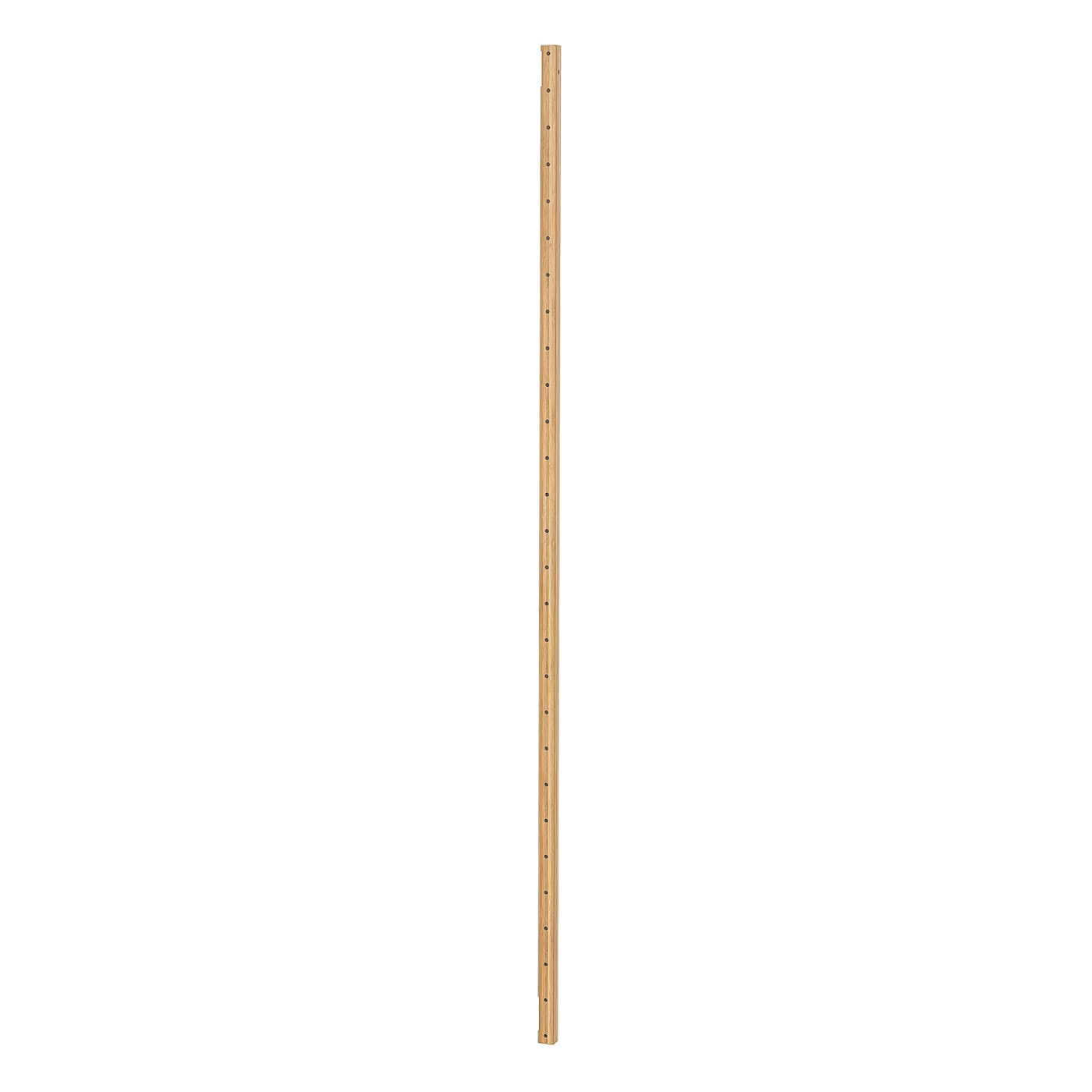 IKEA SVALNÄS wall upright Made of bamboo, which is an easy-care, hard-wearing natural material.