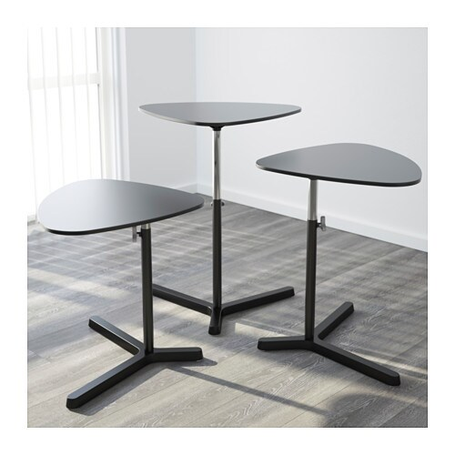 Svart sen laptop stand black 60x50 cm ikea - Ikea uk computer desk ...