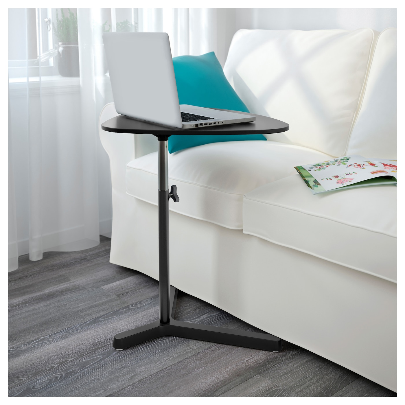 Svart 197 Sen Laptop Stand Black 60 X 50 Cm Ikea