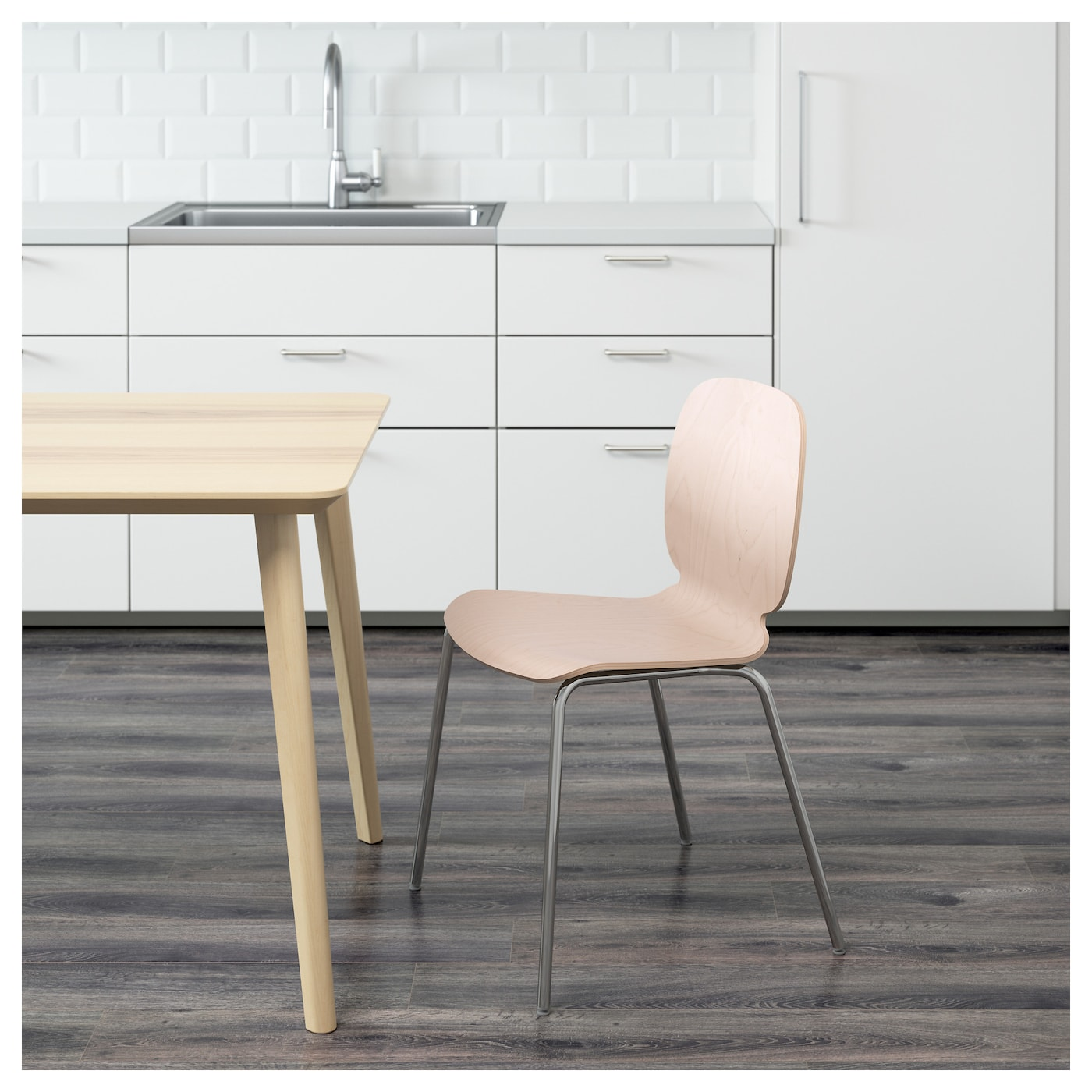 svenbertil chair birch broringe chrome plated ikea. Black Bedroom Furniture Sets. Home Design Ideas
