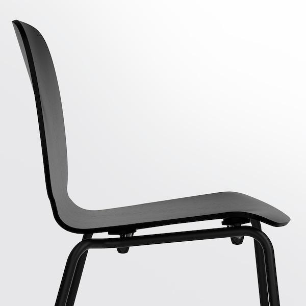 SVENBERTIL chair black/Broringe black 110 kg 52 cm 50 cm 84 cm 45 cm 42 cm 46 cm