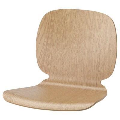 SVENBERTIL Seat shell, oak