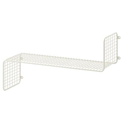 SVENSHULT Wall shelf, white, 60x20 cm