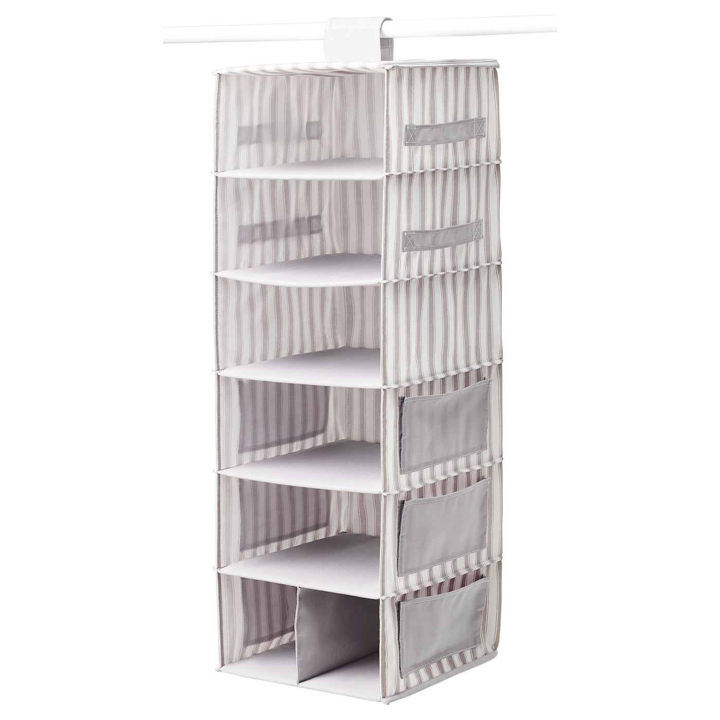 IKEA SVIRA hanging storage with 7 compartments
