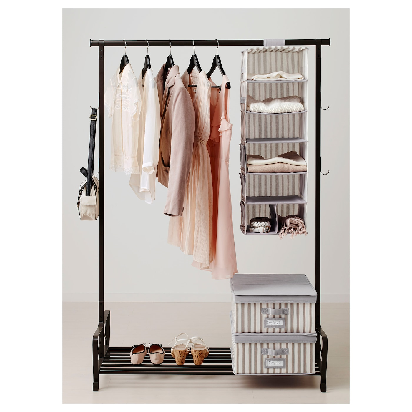 IKEA SVIRA hanging storage with 7 compartments  sc 1 st  Ikea : hanging storage for clothes  - Aquiesqueretaro.Com