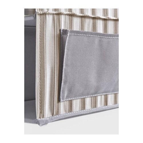 Jugendzimmer Komplett Bei Ikea ~ Hanging storage with 7 compartments SVIRA Grey white stripe